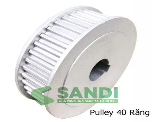 Bản vẽ kỹ thuật Puly 5M