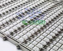 Băng tải lưới inox mắt lưới dạng dọc