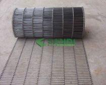 Băng tải lưới Inox mắt lưới dạng ngang - Mẫu 1