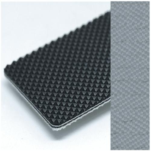 Băng tải chống tĩnh điên PVC đen Karo 2.3mm