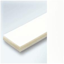 Băng tải PVC trắng dày 6mm 2 mặt