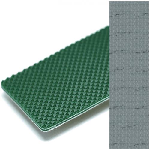 Băng tải PVC xanh Karo 2.3mm chống tĩnh điện