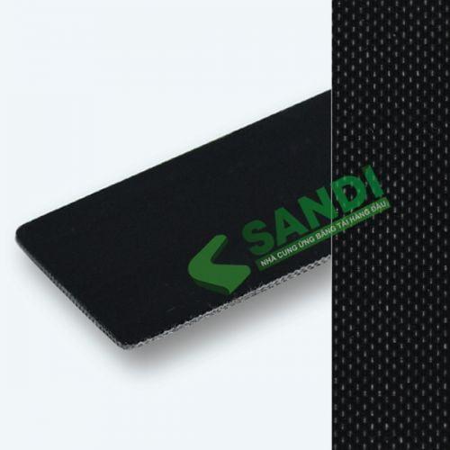 Băng tải PU chống tĩnh điện đen dày 1.5mm