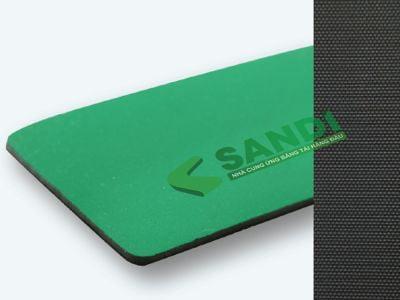 Băng tải PU chống tĩnh điện xanh nõn chuối dày 1.5mm co giãn