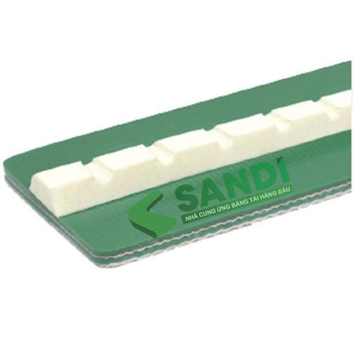 Gân băng tải PVC dạng V có răng