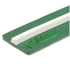 Gân băng tải PVC trắng dạng V