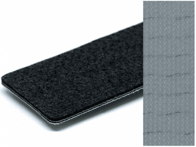 Băng tải PVC nỉ xám chống tĩnh điện dày 4mm