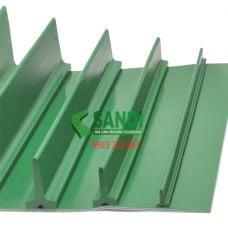Vách băng tải PVC xanh dạng T