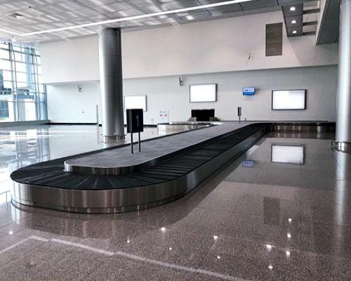 Đặc điểm của băng tải hành lý sân bay