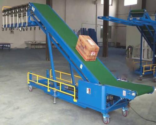 Đặc điểm và cấu tạo của băng tải nâng hạ