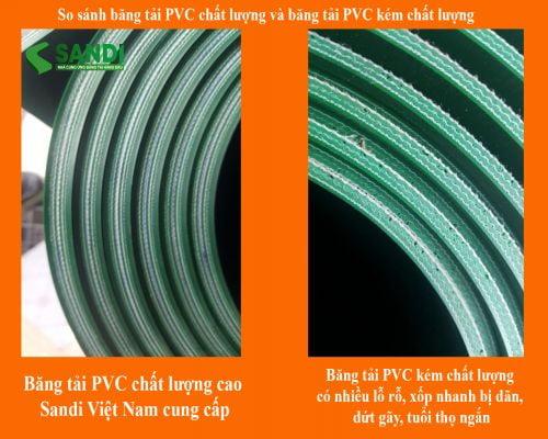 Cách phân biệt băng tải PVC chất lượng cao và băng tải PVC kém chất lượng