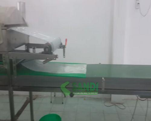 Hệ thống băng tải sản xuất bánh tráng