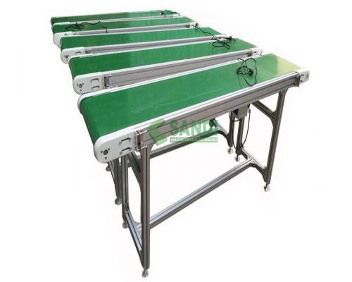 Băng tải PVC mini - Đặc điểm và cấu tạo