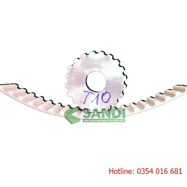 pulley đai răng t10